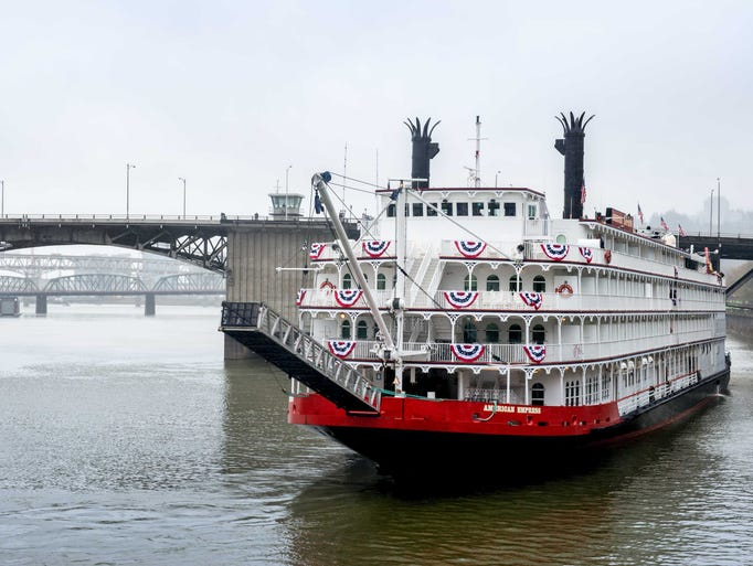 The American Queen Steamboat Company in 2014 revived the 223-passenger American Empress on the Pacific Northwest's Columbia River. What's the vessel like? USA TODAY's Gene Sloan offers a photo tour.