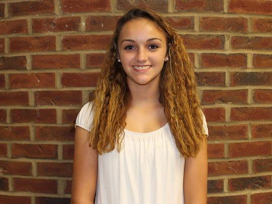 Alyssa Pinkston, a student at Sycamore High School,