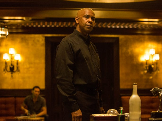 """Denzel Washington takes on the movie version of """"The Equalizer,"""" the classic character portrayed by Edward Woodward on TV from 1985 to 1989.  Washington says he was drawn by the story, not the well-known name. """"The title doesn't mean anything to me. It's the material. If it's a good story, then I'm interested."""""""