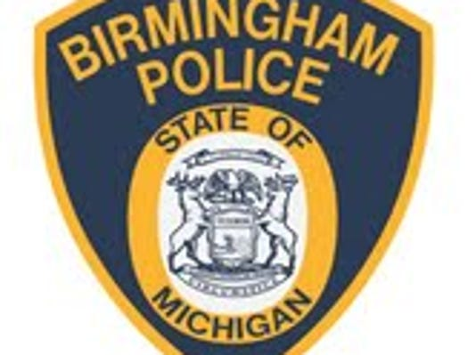 Birmingham police badge