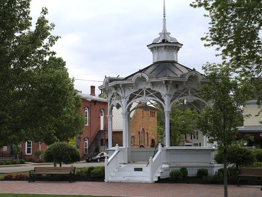 Bellville with its gazebo in downtown is one of the
