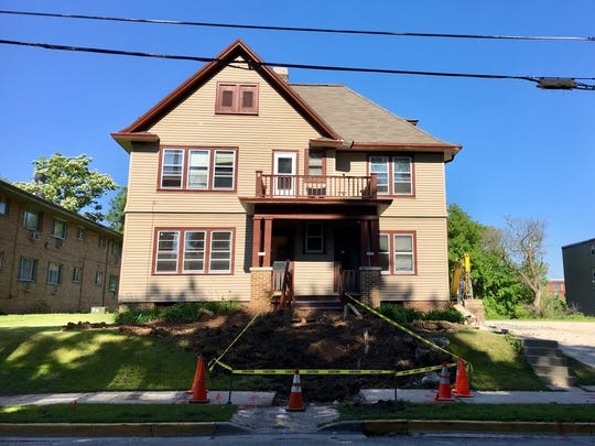 Duplexes at 2075 N. Cambridge Ave. were set for deconstruction last summer.
