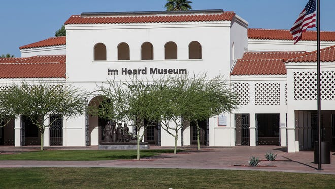 The Heard Museum, on Central Avenue in Phoenix, was founded in 1929.