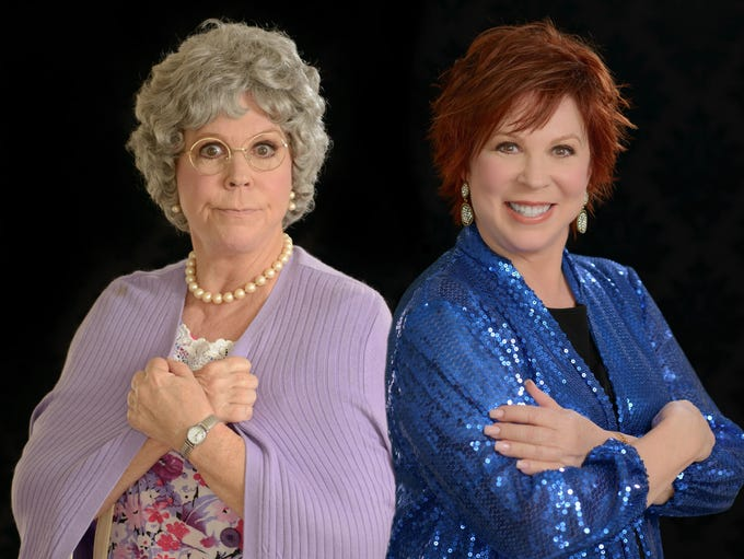 Vicki Lawrence presents a two-woman show when she performs