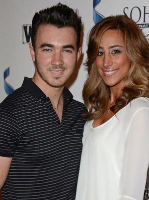 Kevin and Danielle Jonas