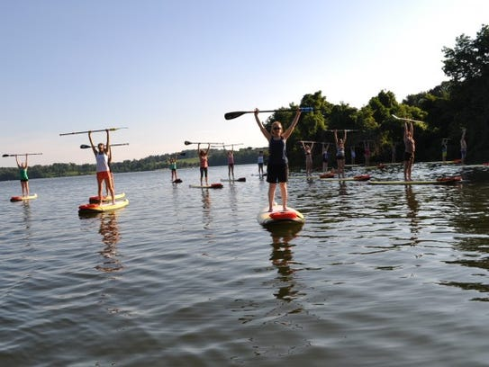 For more experienced water enthusiasts, try out Paddlefit