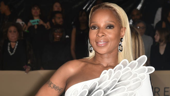 Mary J. Blige couldn't stop crying after news of her first Oscar nomination for 'Mudbound.'