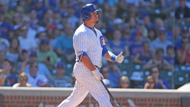 World Series hero Kyle Schwarber has already struck out 71 times this season and is batting .171.