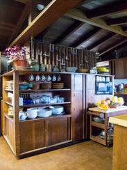 George and Rachel Ellis placed the kitchen directly