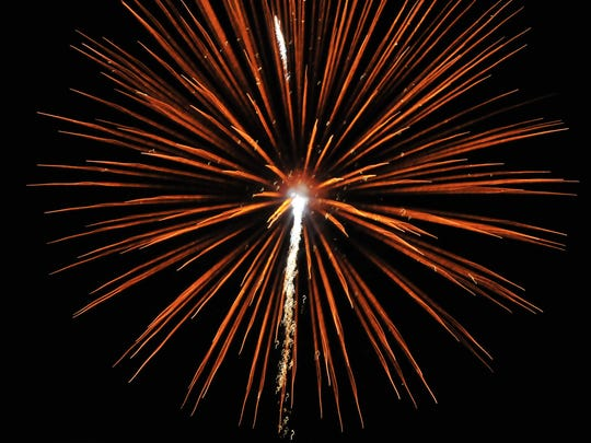Richmond traditionally celebrates Independence Day with fireworks at Glen Miller Park.