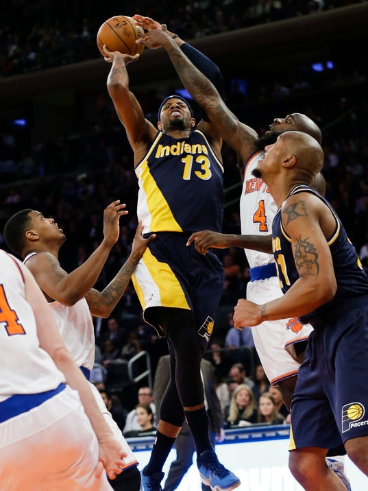 Pacers' Paul George offers 'flashes' of old self to opponents