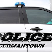 Man distracted by lawn mower crashes car, injures himself in Germantown, police say