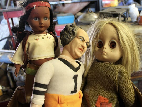 "Some guy dolls get all the girls. Larry, of ""Three"