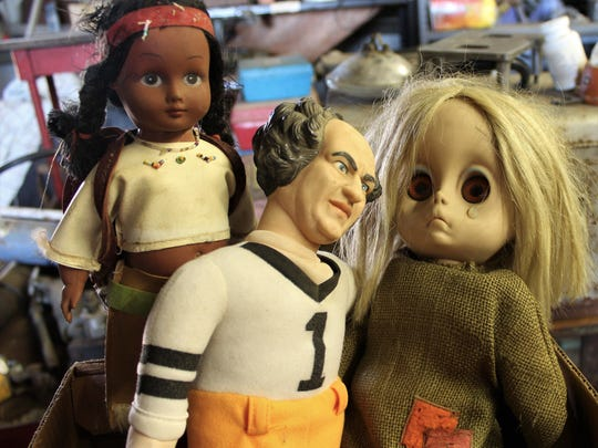 """Some guy dolls get all the girls. Larry, of """"Three"""