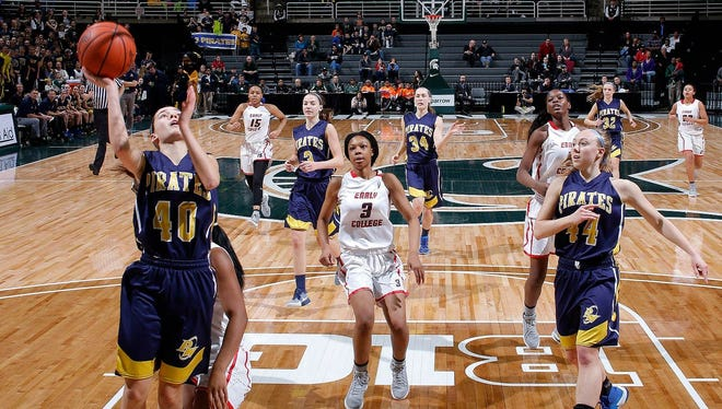 The girls basketball state finals are moving from the Breslin Center to Calvin College next season. The Breslin Center has hosted the finals since 2010.