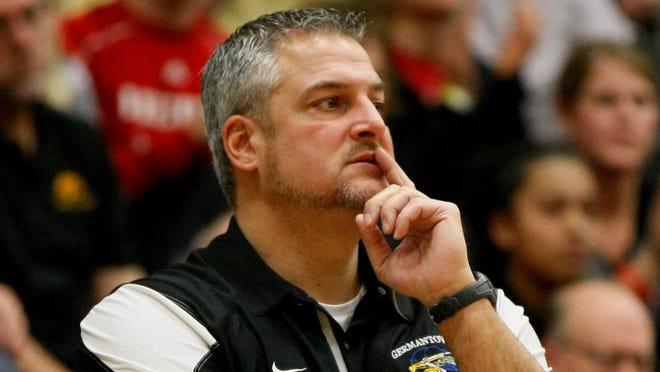 Steve Showalter went 286-81 (.779) at Germantown in 15 seasons as boys basketball coach.