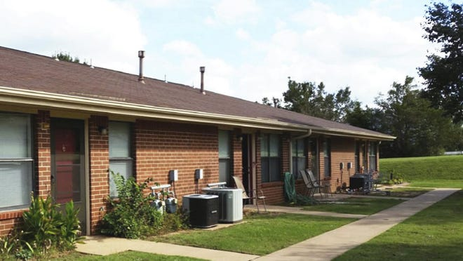 The National Affordable Housing Trust, based in Columbus, will spend $100 million to finance more than 1,000 low-income apartments, including renovating the Bent Oak Village in Choctaw, Oklahoma, shown here, into 30 apartments developed by Volunteers of America.