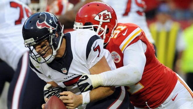 Texans QB Case Keenum made his first NFL start in Week 7 at Kansas City and played well in a loss.