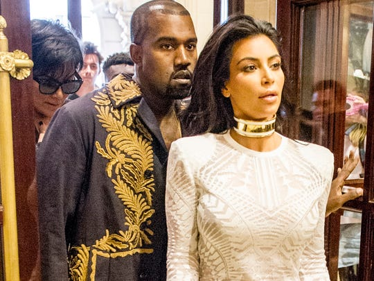"Kim Kardashian, here with husband Kanye West, has apparently discovered ""Making a Murderer."""