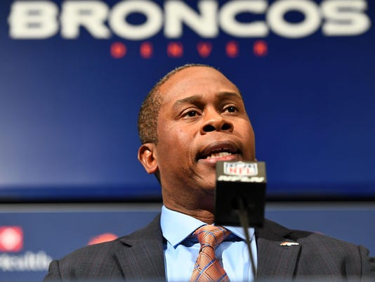 NFL: Denver Broncos-Vance Joseph Press Conference