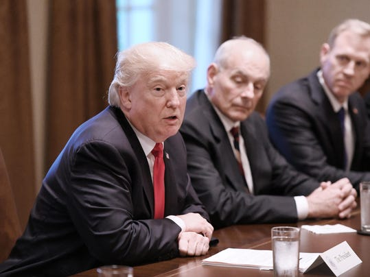 Trump turns to Kelly to quell lawmakers' complaints about immigration talks