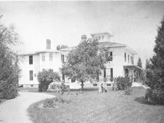 Dyer Dayton Stanley Brown's home at 41 Brown's Ave.