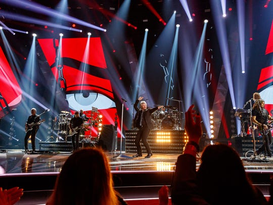 Jon Bon Jovi of Bon Jovi performs at the 2018 iHeartRadio