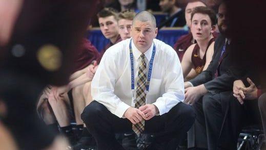 Cooper boys basketball coach Tim Sullivan