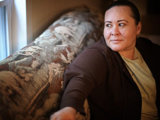 Miriam Zelaya is from Tegucigalpa, Honduras, where she owned and operated a small men's clothing store. She received call from a man with Mara 18 gang in May 2014, telling her she needed to pay about $75 weekly for rent on her store. She refused and went into hiding with her son. She lived safely inside her best friend's home for about a year, until the gang found her on July 12, 2015. She crossed the border illegally at Matamoros, Mexico. Zelaya and her son were detained and registered and currently seeking asylum in fear for their lives if they were to return to Honduras.