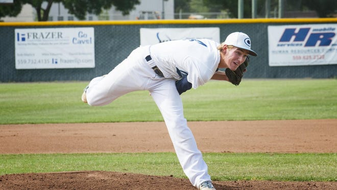 Central Valley Christian pitcher Trenton VanderVeen tossed a complete-game shutout.