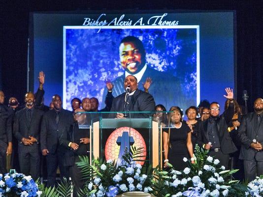 Bishop Alexis Thomas memorial service