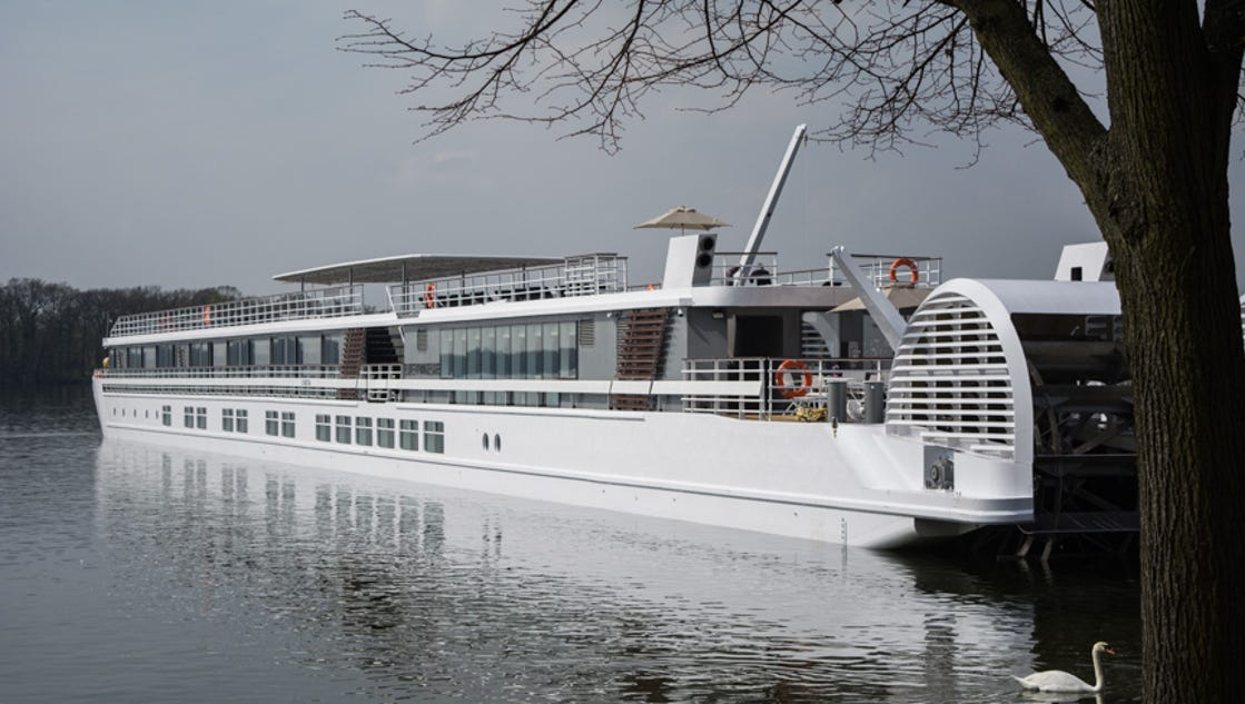 New CroisiEurope river ship christened in Berlin
