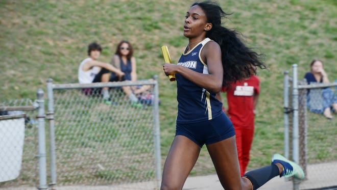 The Buncombe Country track meet was held last week at Asheville High.