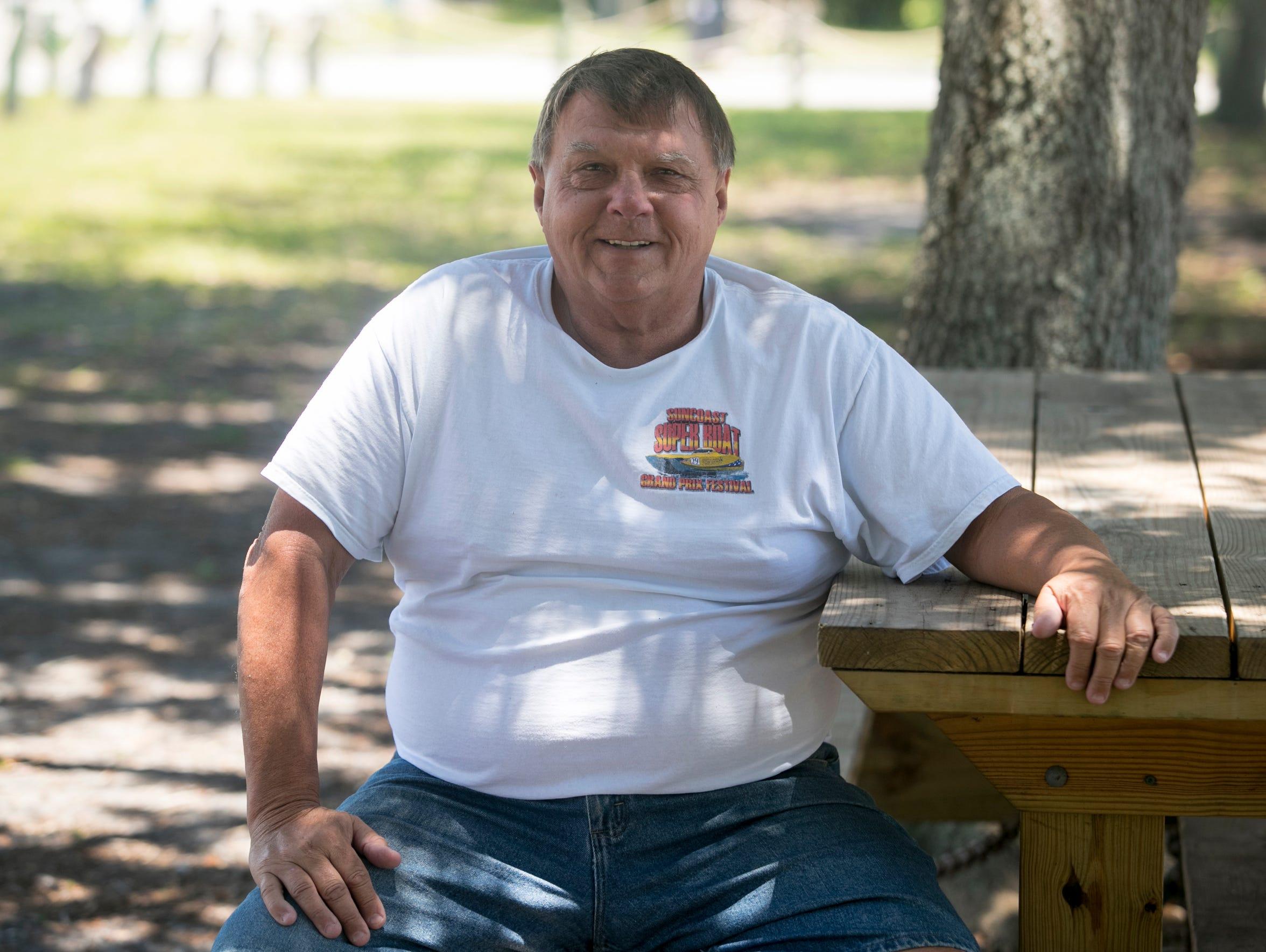Gary Poff, friends with Pamela Hutchinson in Bradenton.