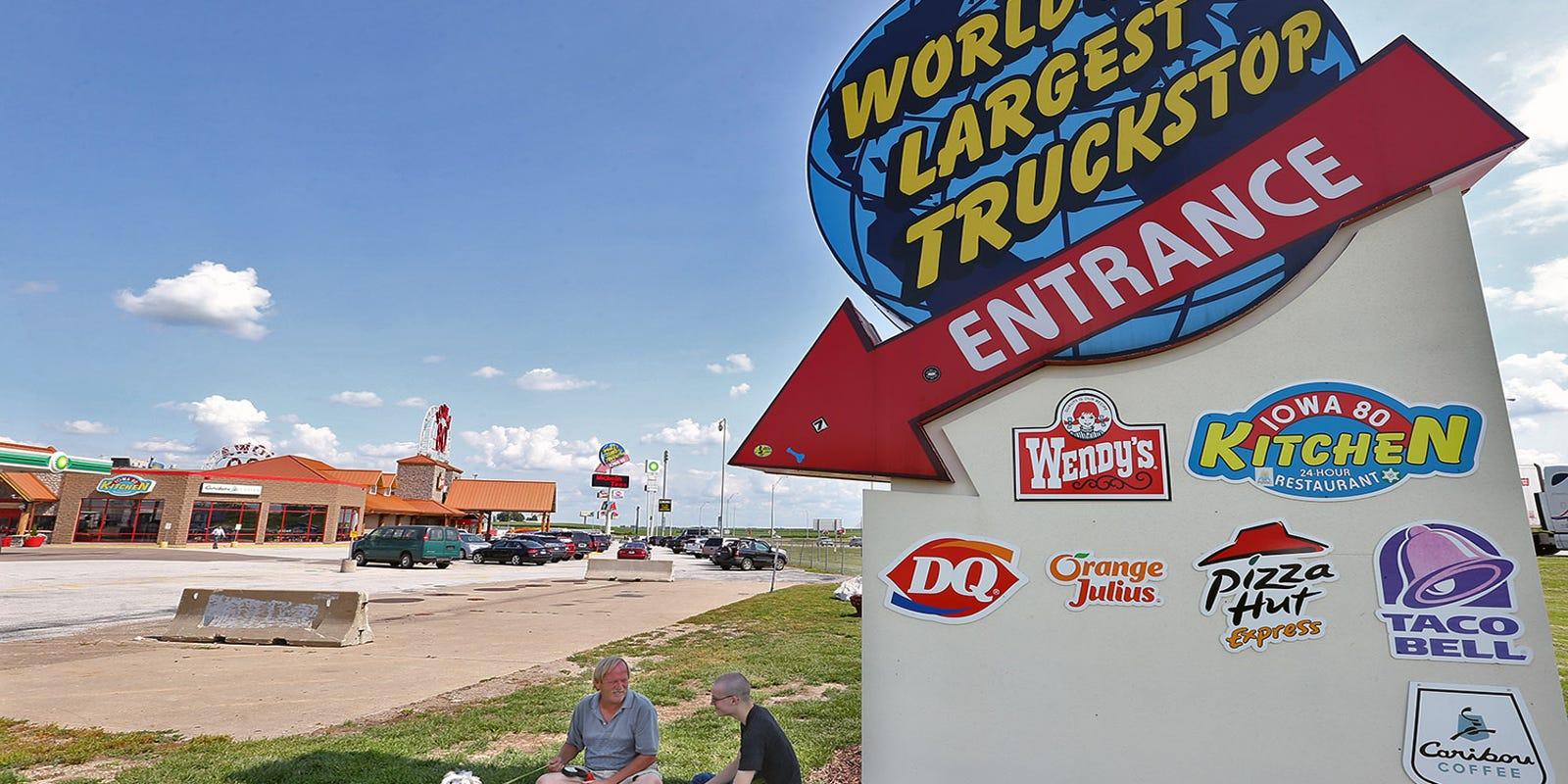 A trip on Interstate 80, Iowa's Main Street