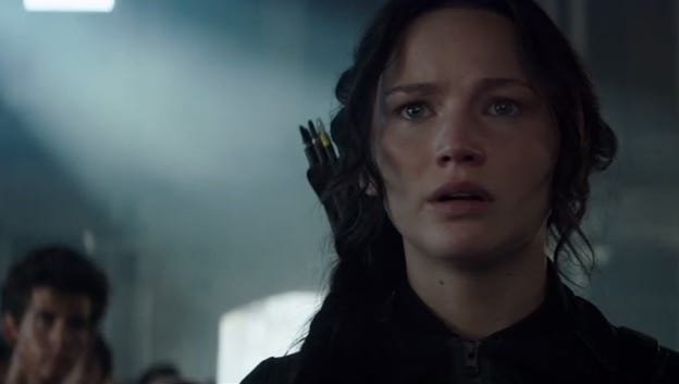 "The first ""Mockingjay"" film hits theaters in November."