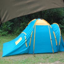Subpar tent leads to soggy outing
