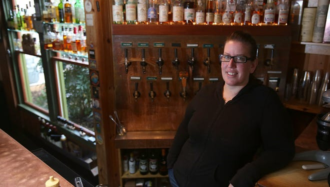 Jen Kent has been the brewer at  Thompson's McMenamins for the past 10 years.