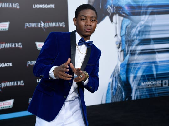 'Power Rangers' actor RJ Cyler aka Billy (Blue Ranger).
