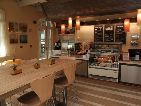 A coffee bar at Toscana country club in La Quinta