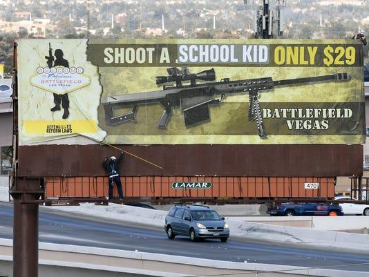 Las Vegas Battlefield Billboard