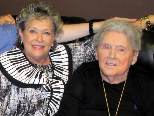 Judith and Jerry Lee Lewis on Sept. 26 2015.