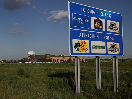 The U.S. Highway 65 bypass, a $100 million project, paved the way for the opening of Bass Pro and the Outlet of Des Moines in Altoona.