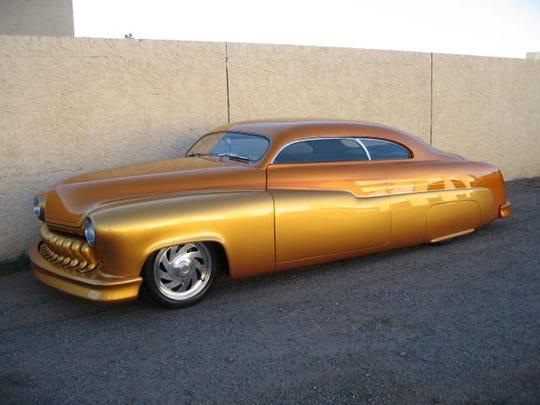 1951 Candy Gold Mercury