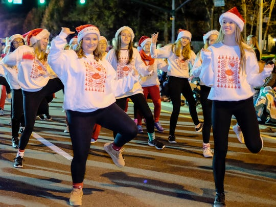 Performers from the Ginny Mount School of Dance put on quite a show with their dance moves.