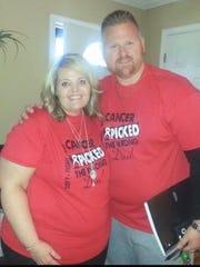 Reggie Hines and his sister Tara Driver.