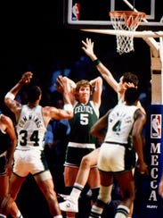 The Bucks and Celtics met in the playoffs often in