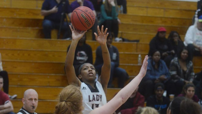 Senior Taniesha Gilbert will try to help lead Kennedy on a deep run in the Passaic County girls basketball tournament.