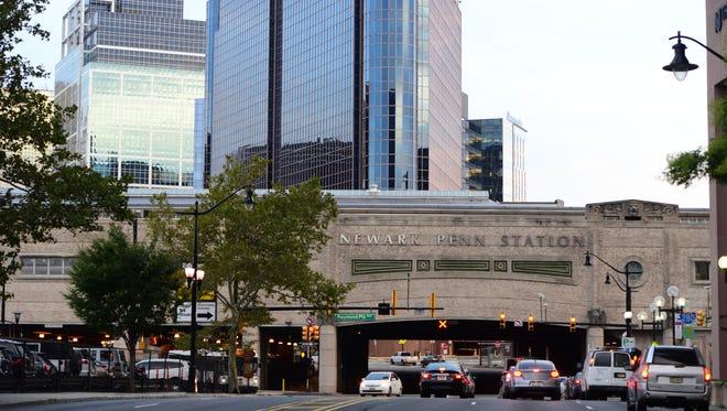 Newark Penn Station.