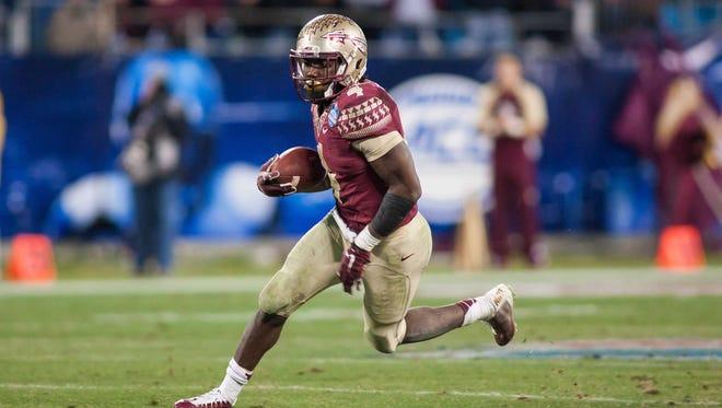 Running back Dalvin Cook has had a big freshman season for Florida State.